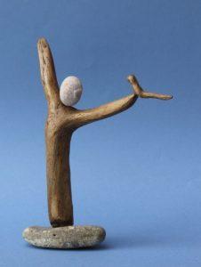 Sculpture oiseau - Roland Machet - Rencontres buissonnieres